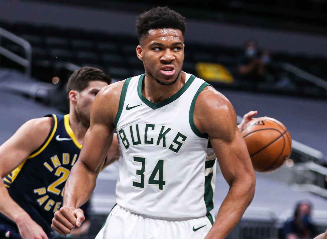 Giannis Antetokounmpo records mind-blowing stats against Indiana Pacers