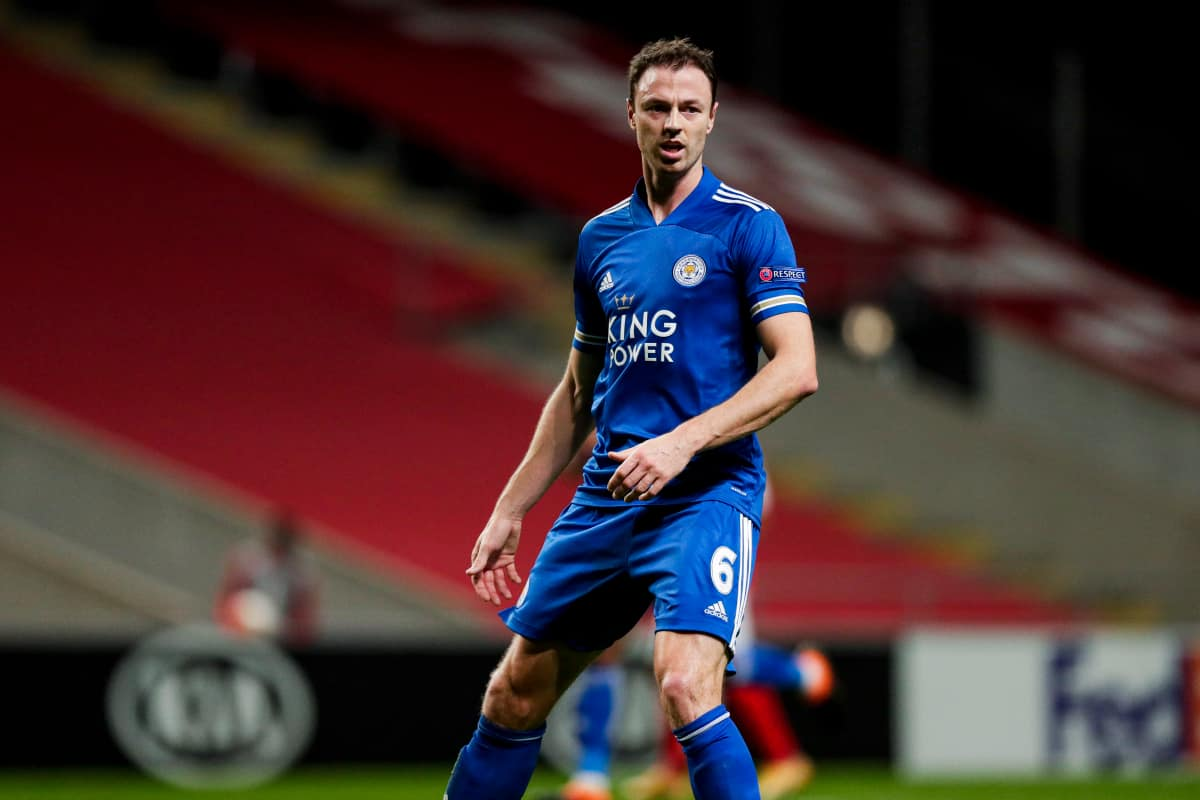 Brendan Rodgers provides Jonny Evans injury update ahead of Leicester's FA Cup final vs Chelsea
