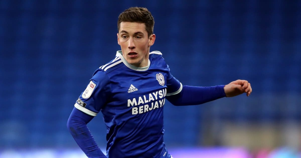 Harry Wilson of Liverpool in action for Cardiff