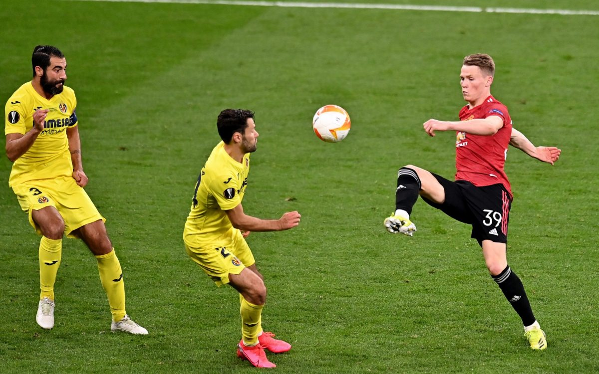 Scott McTominay sends 4-word message after Manchester United's Europa League final upset