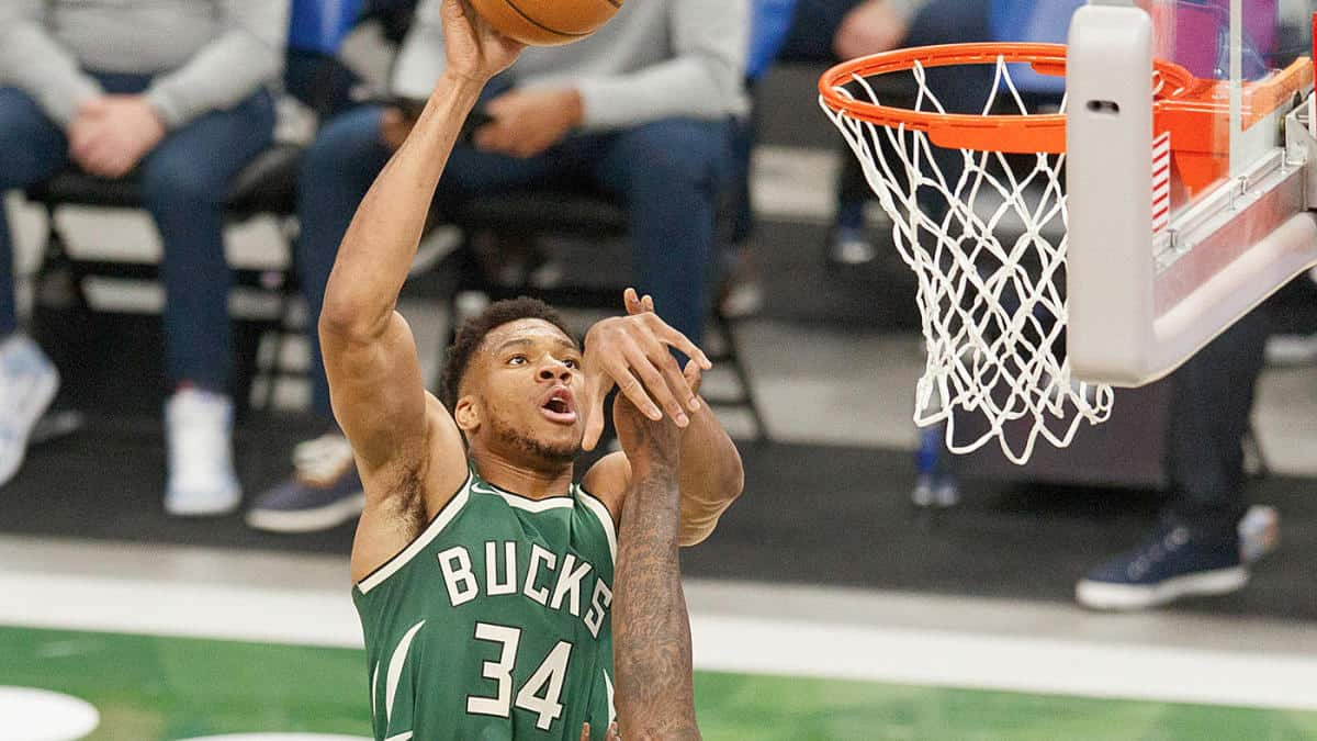 Giannis Antetokounmpo stats against Nets as he is named MVP