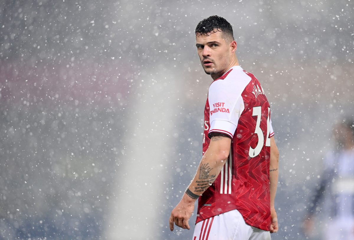 Granit Xhaka agrees contract with AS Roma