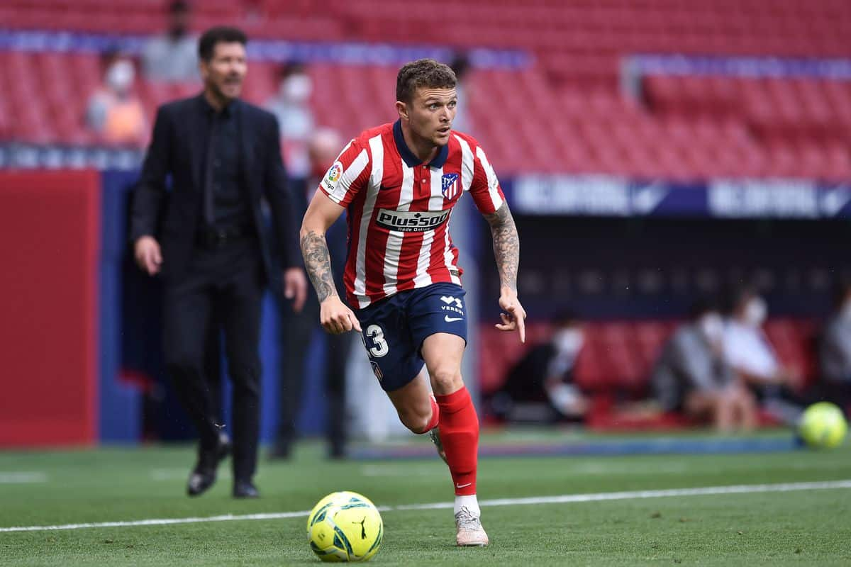 Atletico Madrid respond to Manchester United's bid for signing Kieran Trippier