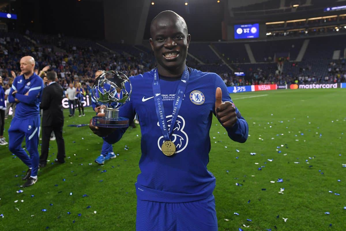 N'Golo Kante drops hint on his Chelsea future after Champions League win