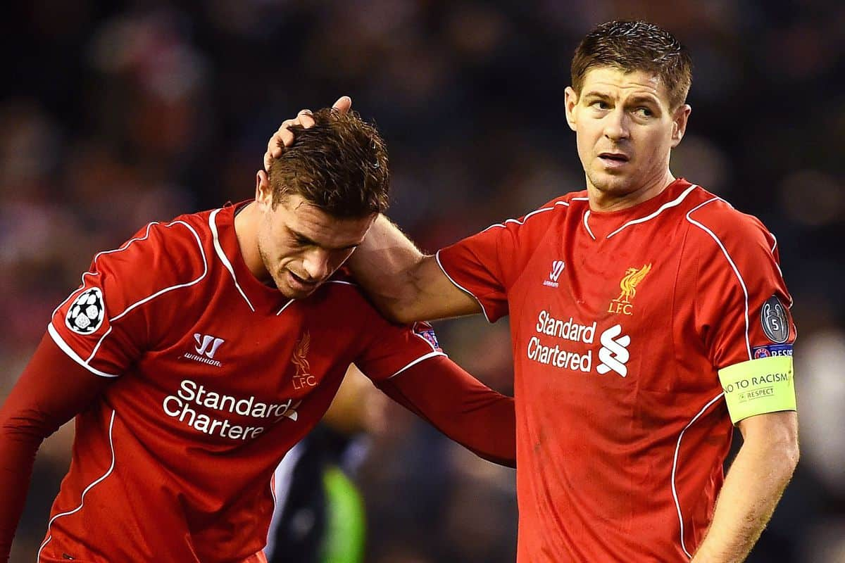Steven Gerrard sends four-word message to Jordan Henderson after England's win over Germany