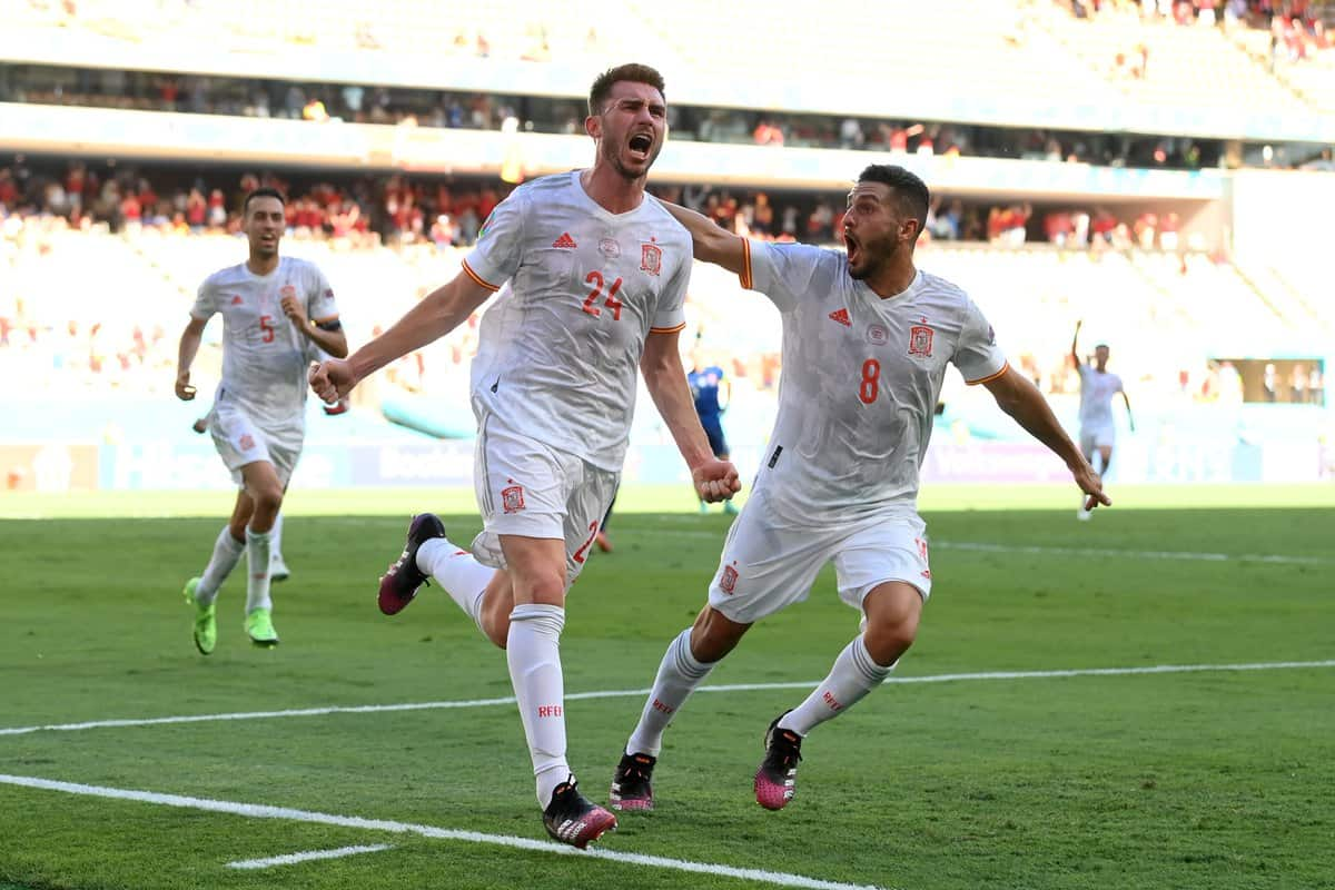 """Aymeric Laporte makes """"dream"""" claim after scoring his first Spain goal"""