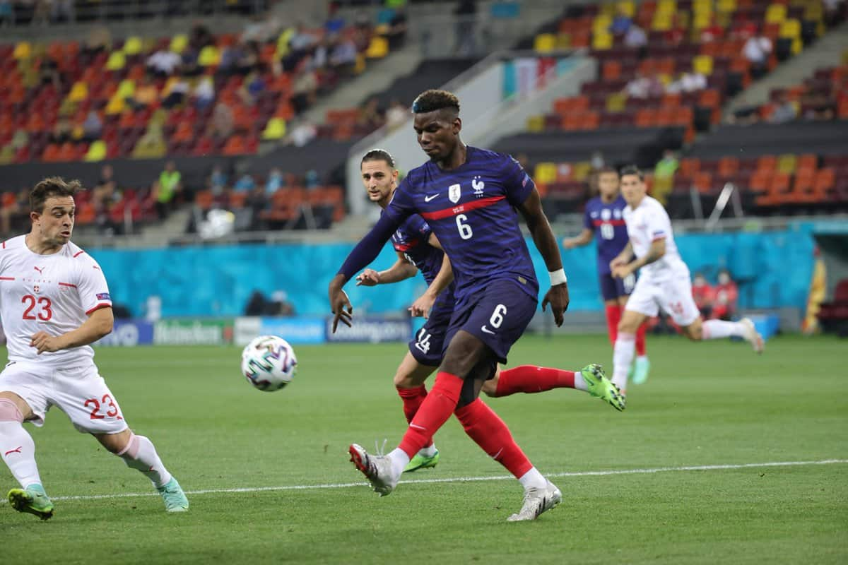 Paul Pogba's incredible display against Switzerland despite France's EURO 2020 elimination