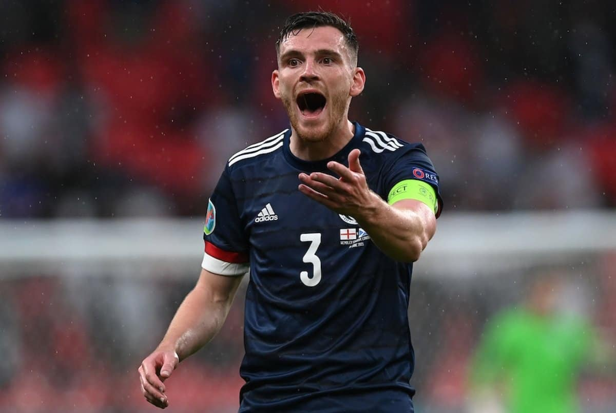Andy Robertson deletes video of him playing ping-pong with Billy Gilmour after positive COVID19 test