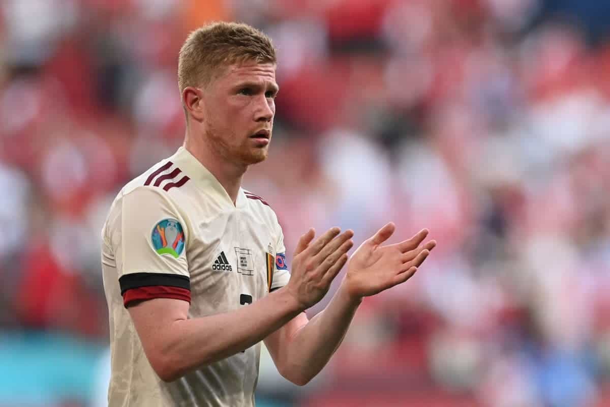Kevin De Bruyne provides update on his injury after Belgium game