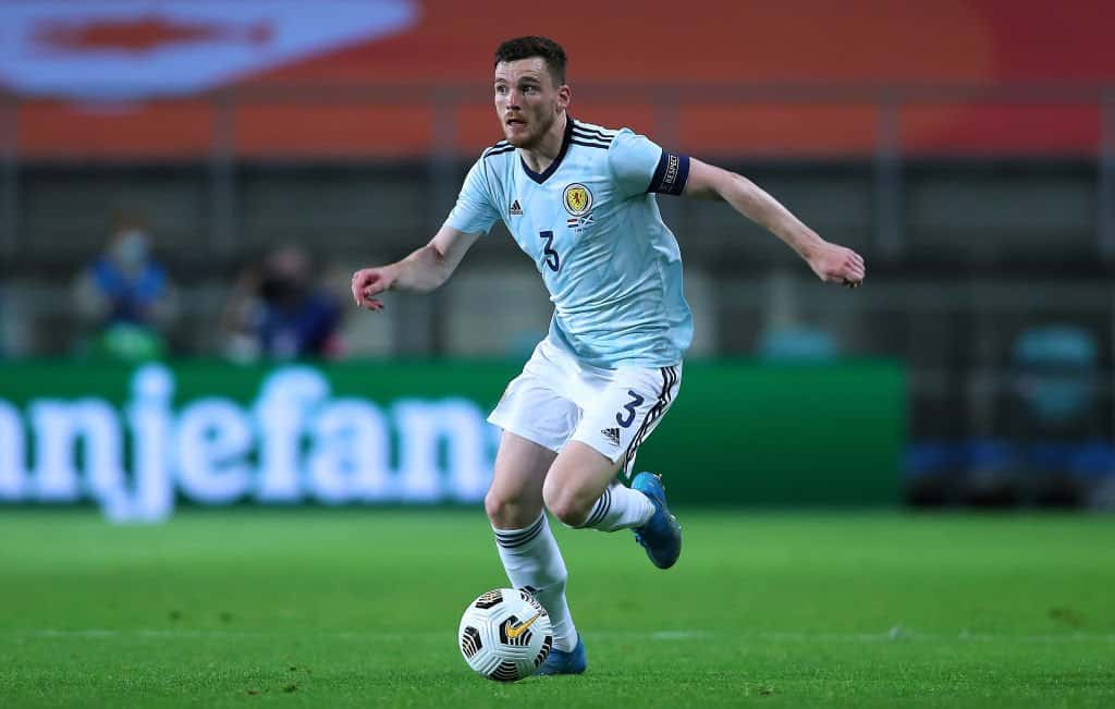 Andy Robertson's superb assist for Scotland against Netherlands