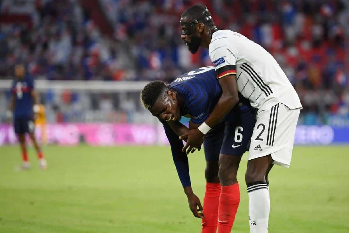 Paul Pogba reveals what happened between him and Antonio Rudiger during France vs Germany