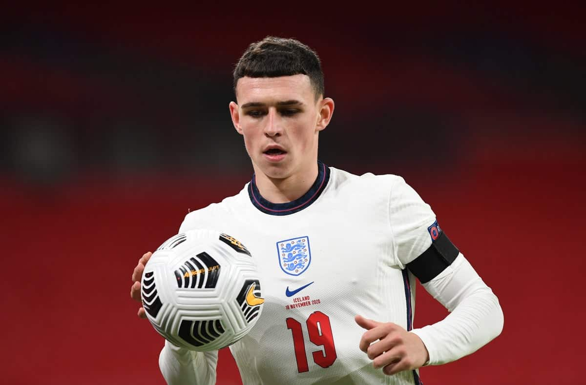 Phil Foden sends a message ahead of EURO 2020