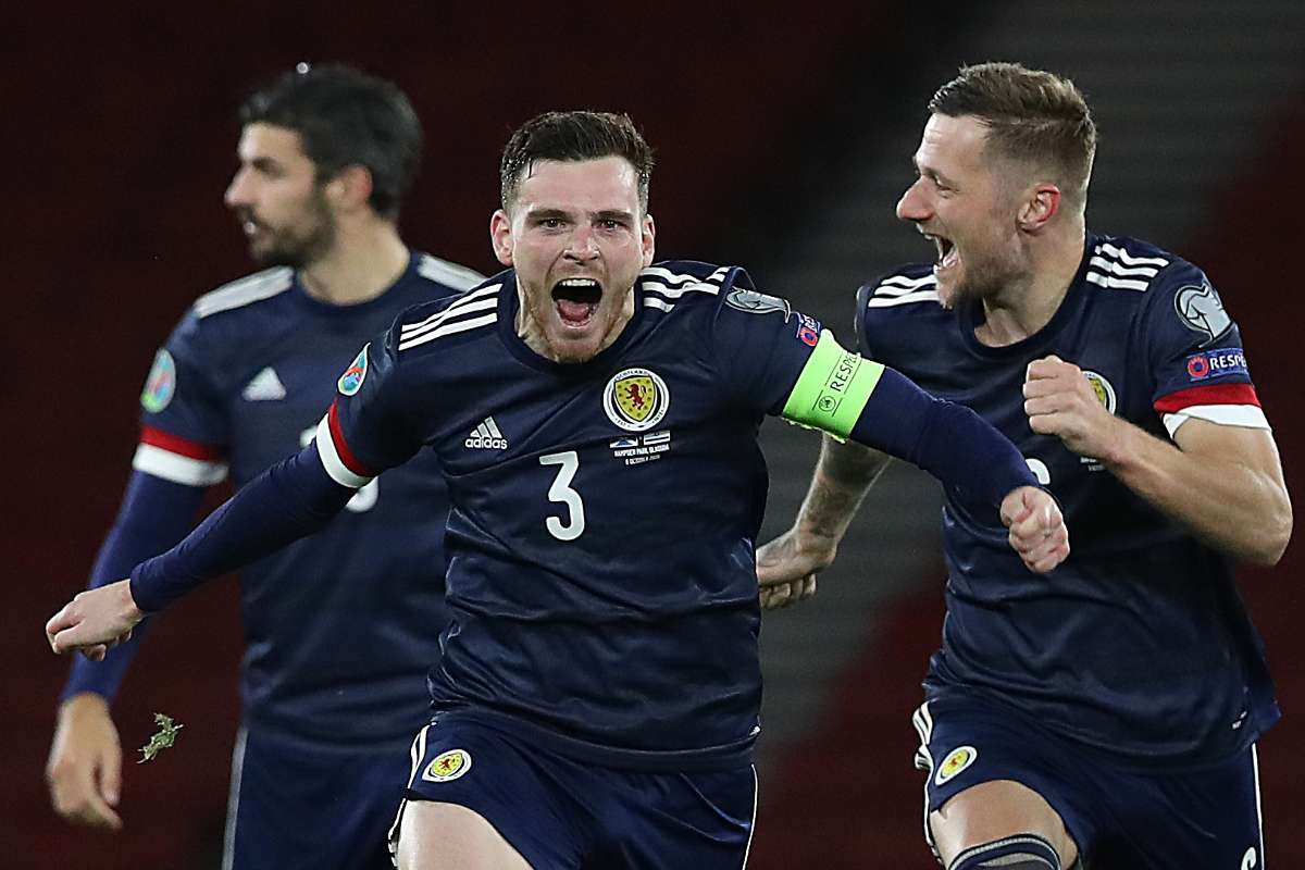 Andy Robertson's sweet gesture to Scotland squad ahead of Euro 2020