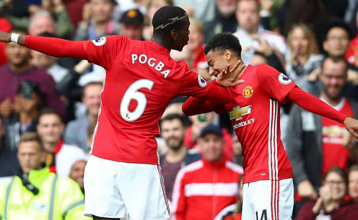 Jesse Lingard sends message to Paul Pogba following France's win over Germany