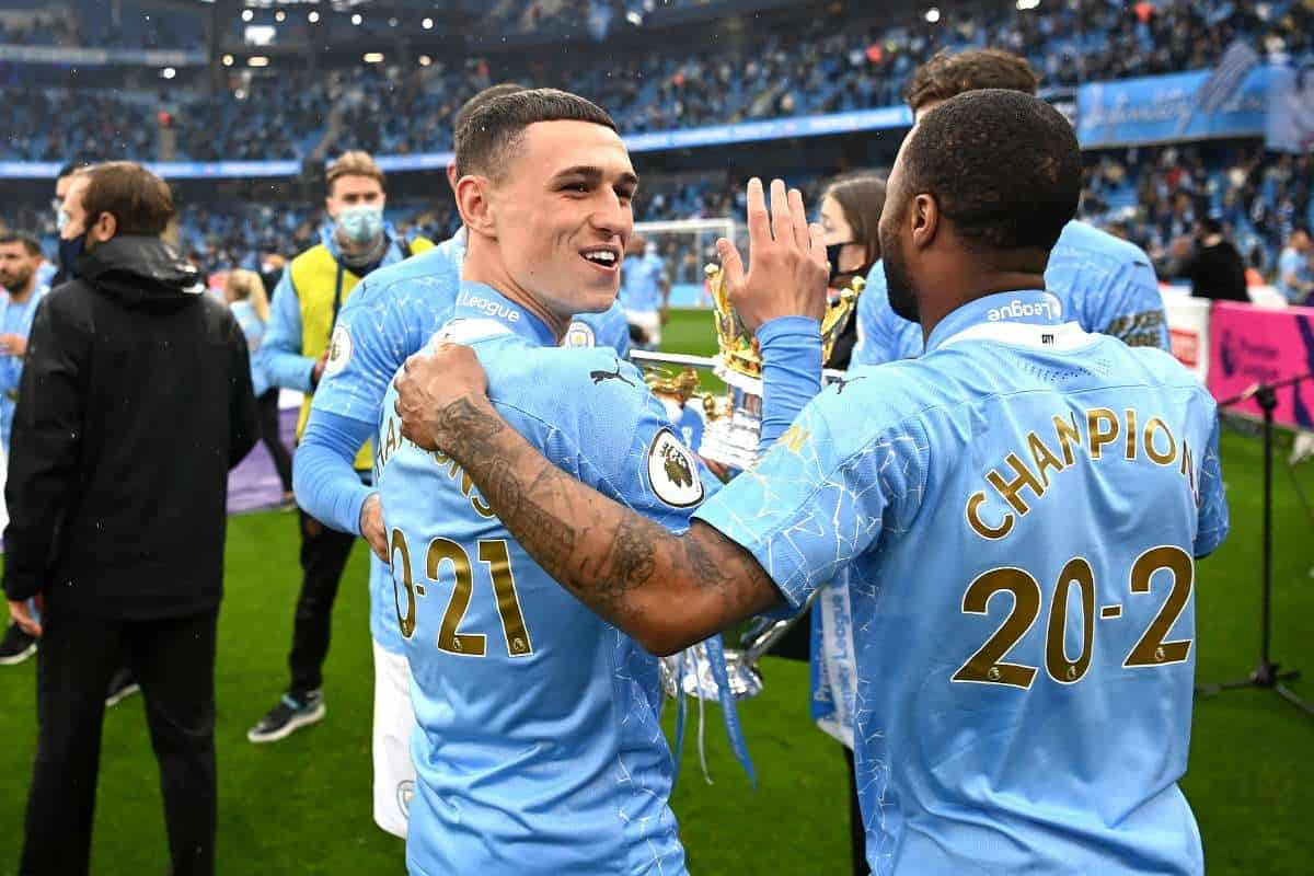 Raheem Sterling reveals his 'shock' reaction to Phil Foden's new hair