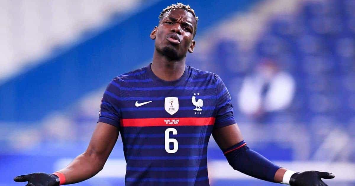 """Paul Pogba reacts to French teammates asking him about Paris Saint-Germain """"contact"""""""
