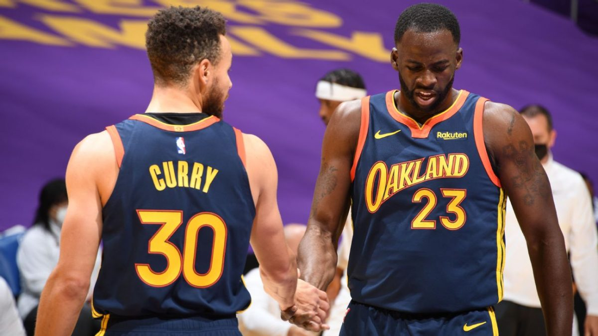Stephen Curry sends message to Draymond Green after he was included in NBA All-Defense First Team