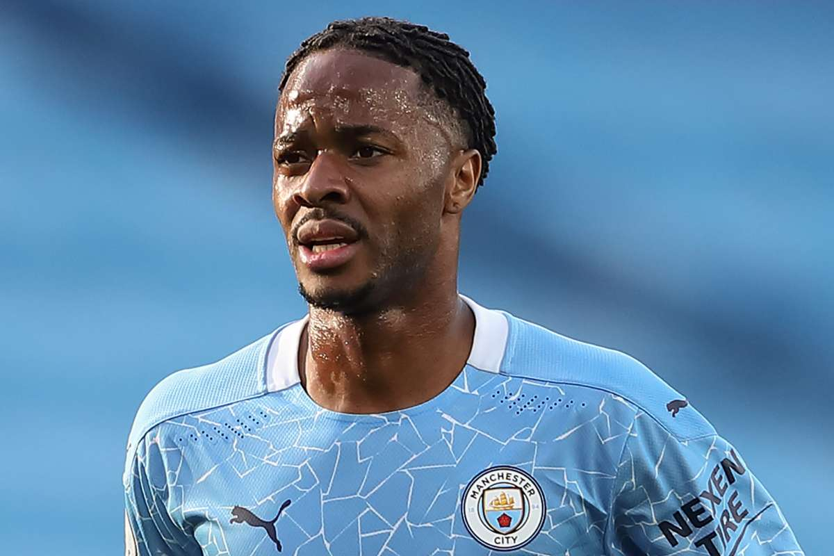 Raheem Sterling breaks silence on his Manchester City future amid Barcelona links