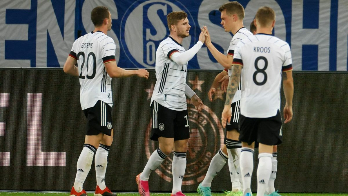 TimoW erner scored for Germany