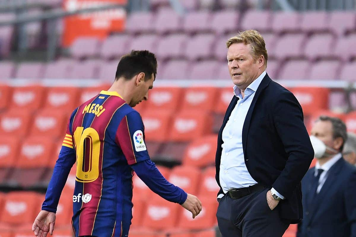Ronald Koeman provides update on Lionel Messi and Barcelona finances amid Manchester City links