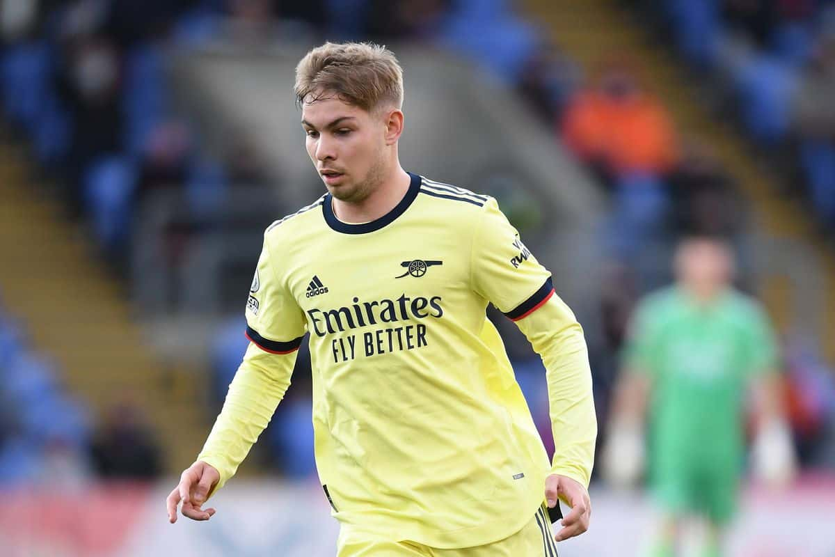 Emile Smith Rowe reacts on signing new contract and taking number 10