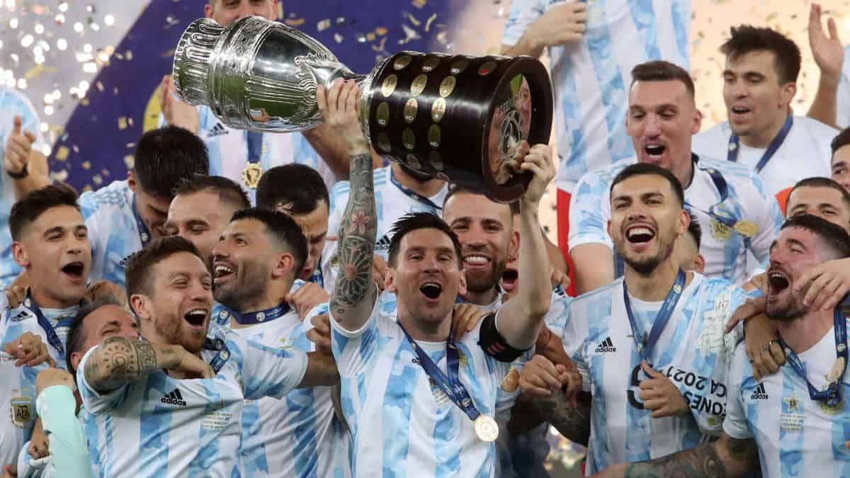 Argentina win the Copa America 2021 after beating Brazil with a 1-0 score