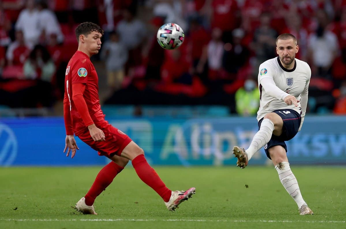 Daley Blind sends message to Luke Shaw after England reach EURO 2020 FINAL