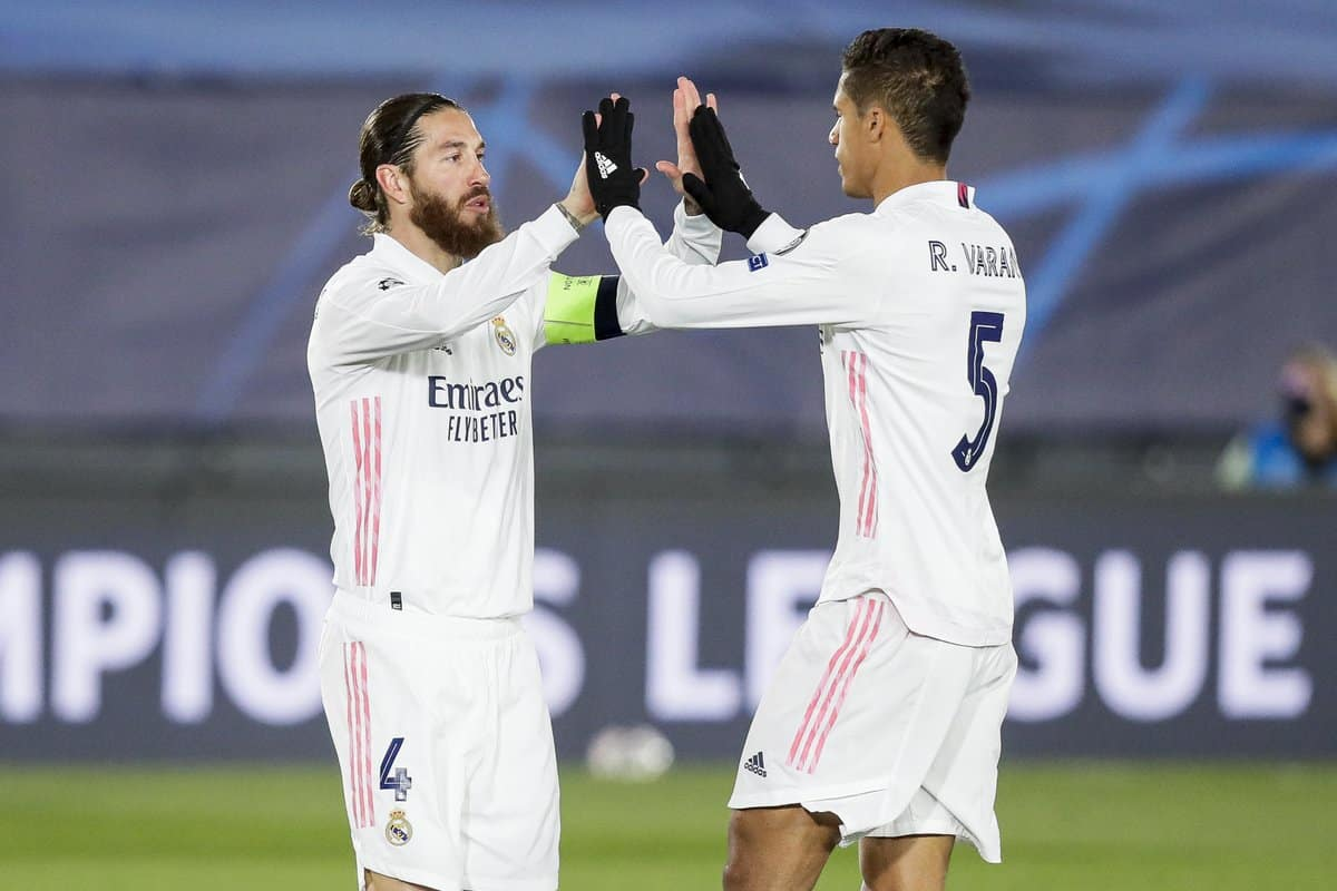 Sergio Ramos sends touching message to Raphael Varane after Manchester United transfer