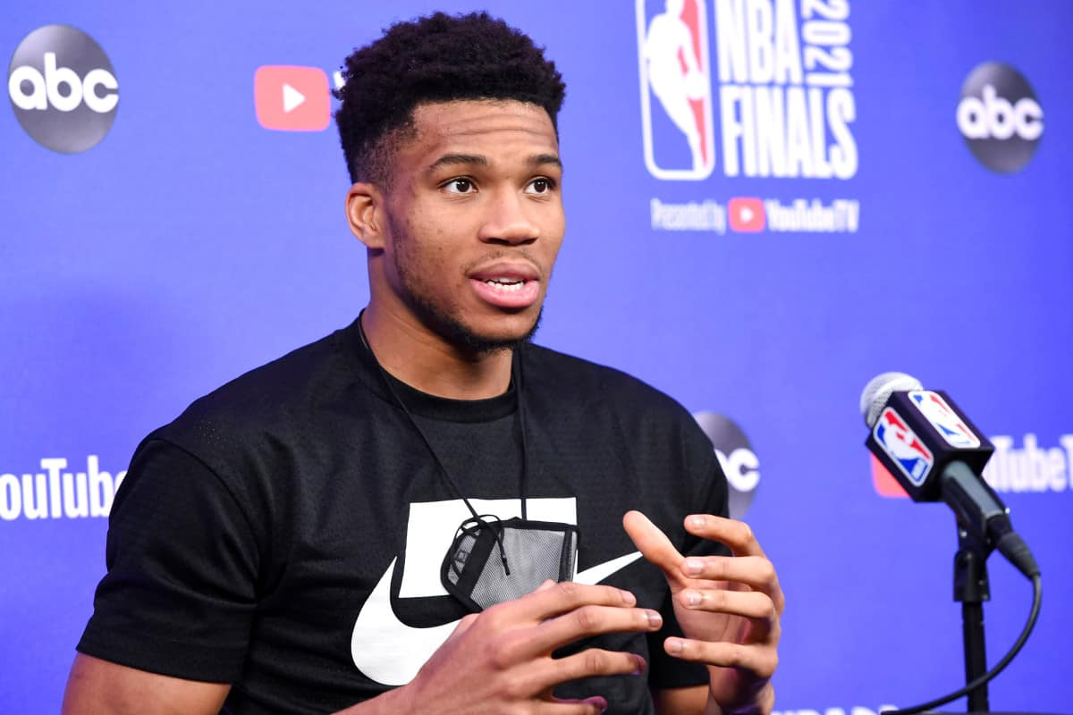 Giannis Antetokounmpo explains the reason for heading to bench early in Games 3 and 4