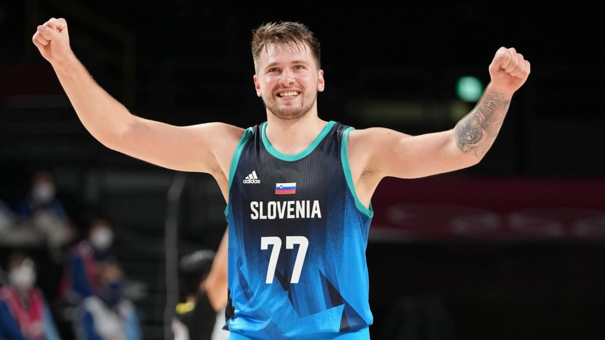 Luka Doncic records incredible stats for Slovenia in Tokyo Olympics