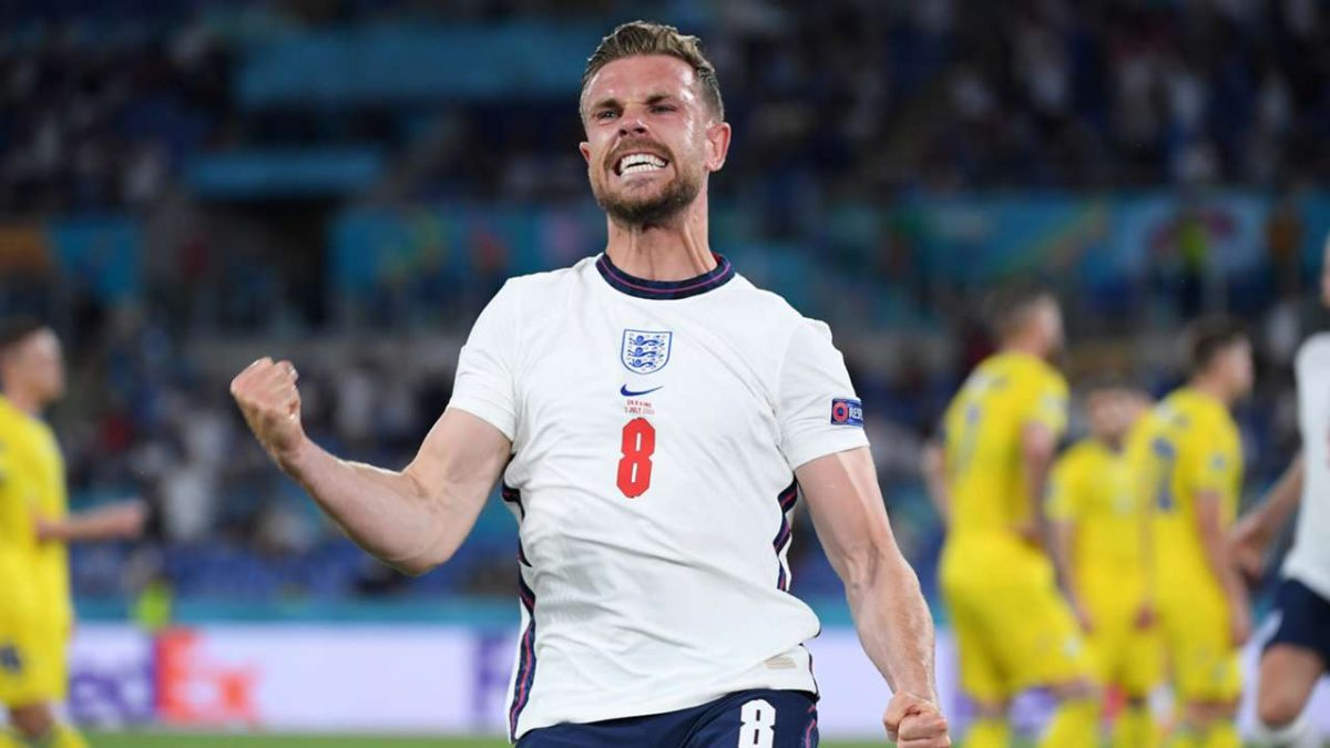 Liverpool send four-word message to Jordan Henderson ahead of England's crucial game with Denmark