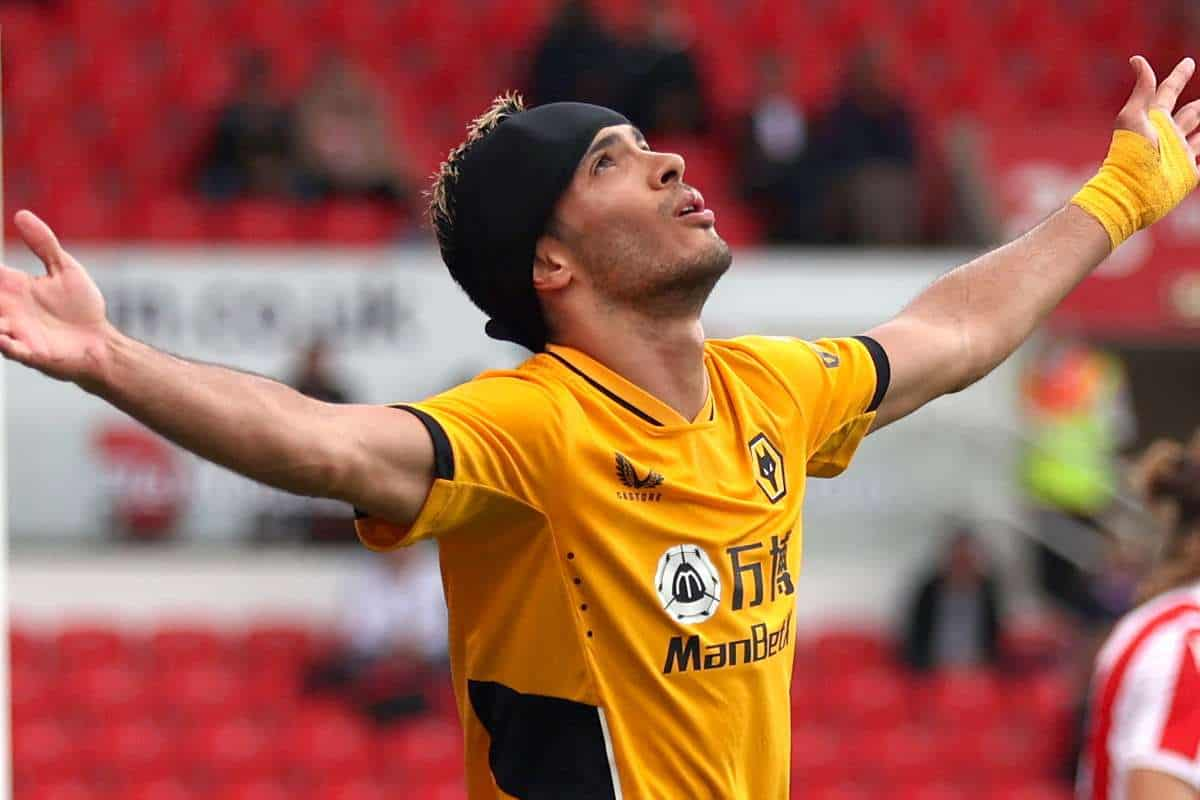 Raul Jimenez scores for the first time since Wolves return