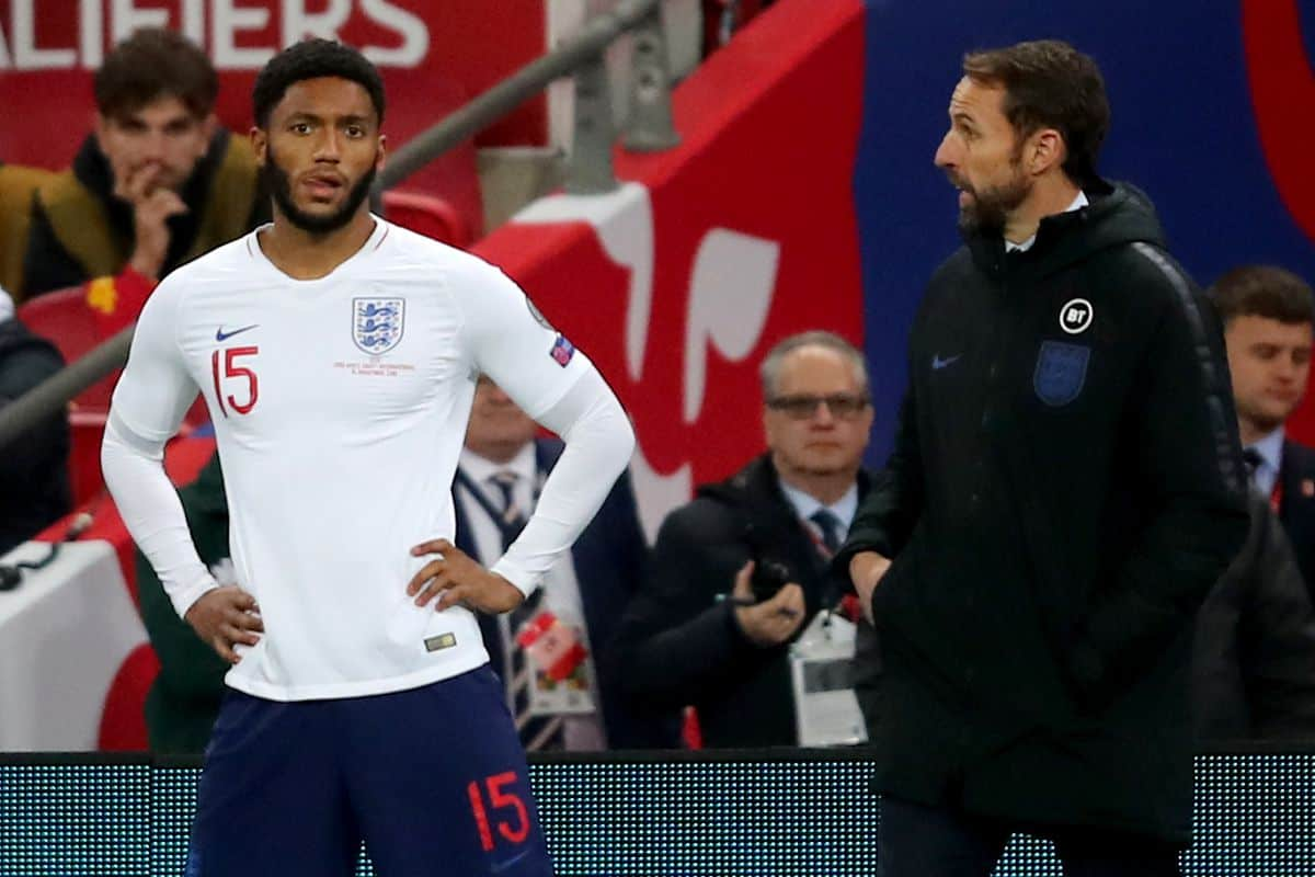Gareth Southgate hints on calling up Liverpool ace to England squad