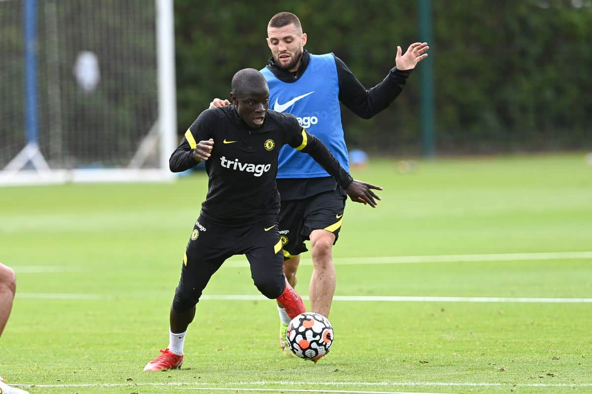 What N'Golo Kante did in Chelsea training