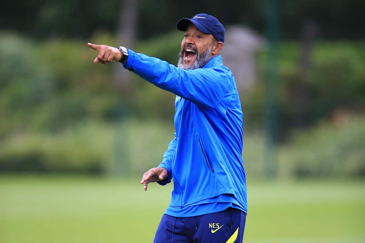 'Really disappointing' - Former football player reacts to what Nuno Espirito Santo has said about Spurs training