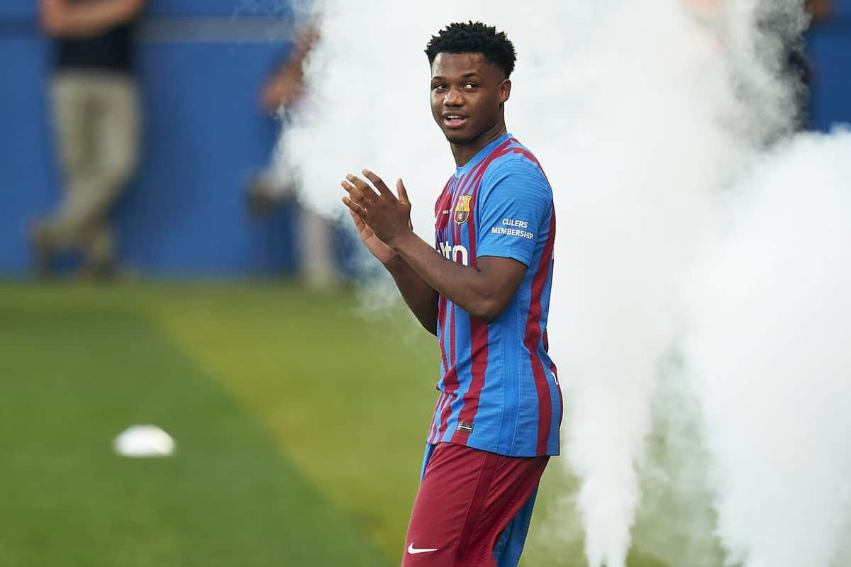 Manchester City offered Raheem Sterling swap deal with Barcelona wonderkid