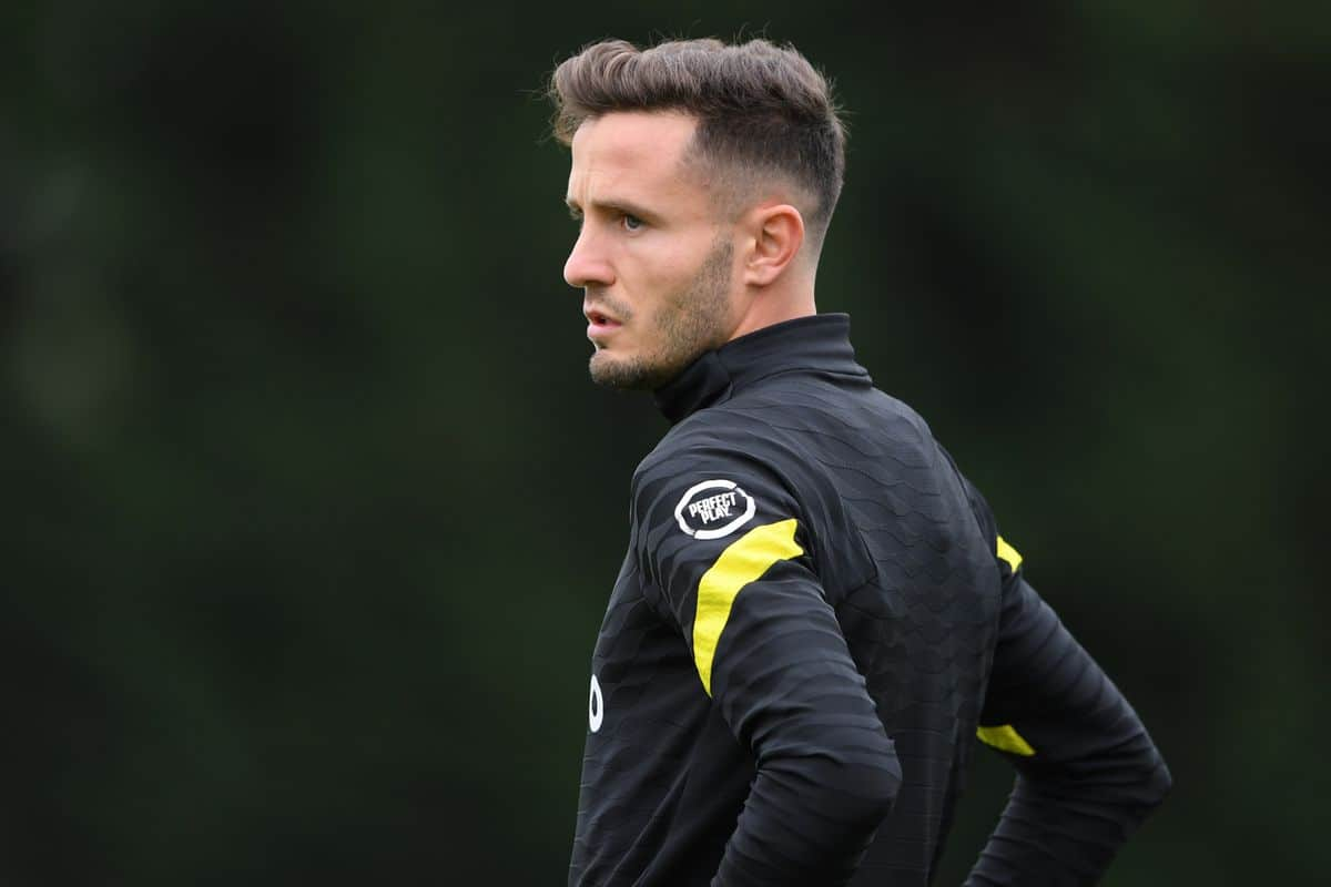 What Saul Niguez did in his first Chelsea training