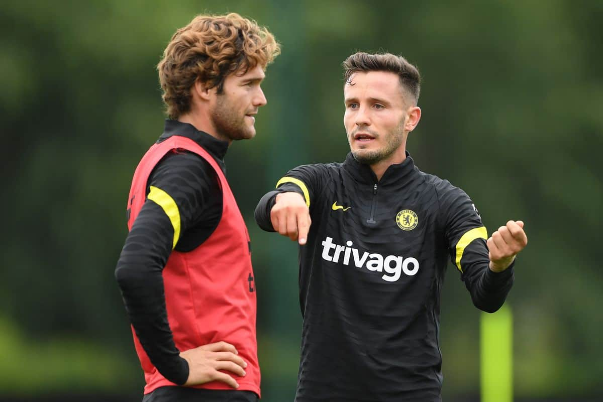 What Saul Niguez did in training that will excite Chelsea fans