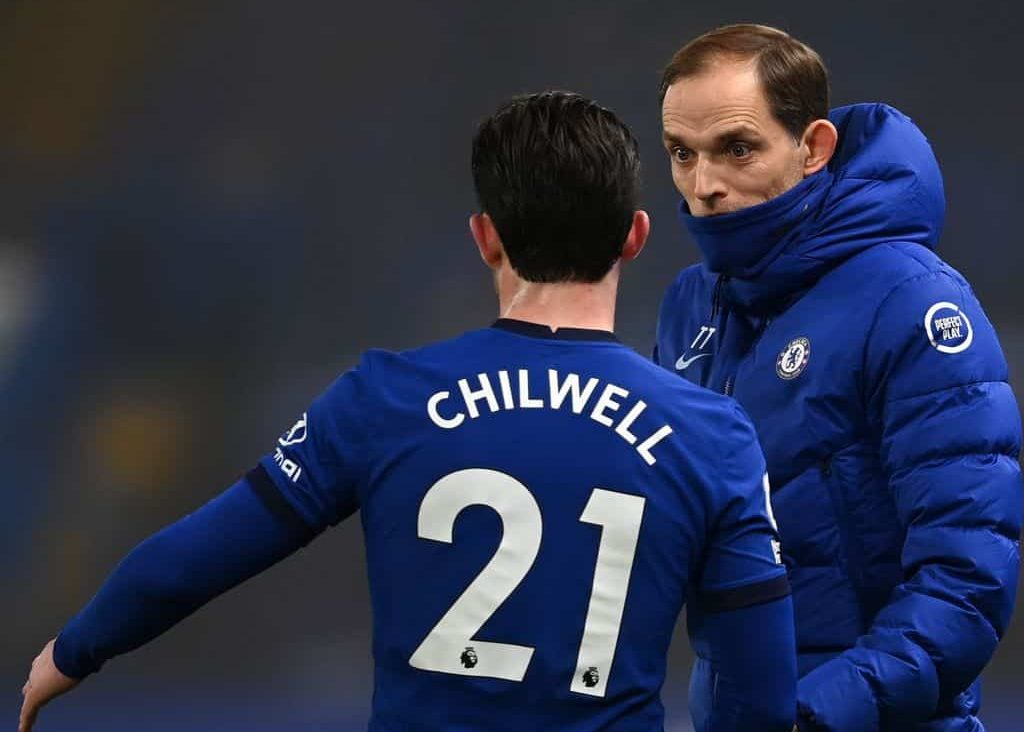 Thomas Tuchel sends message to Ben Chilwell about his struggles for Chelsea minutes