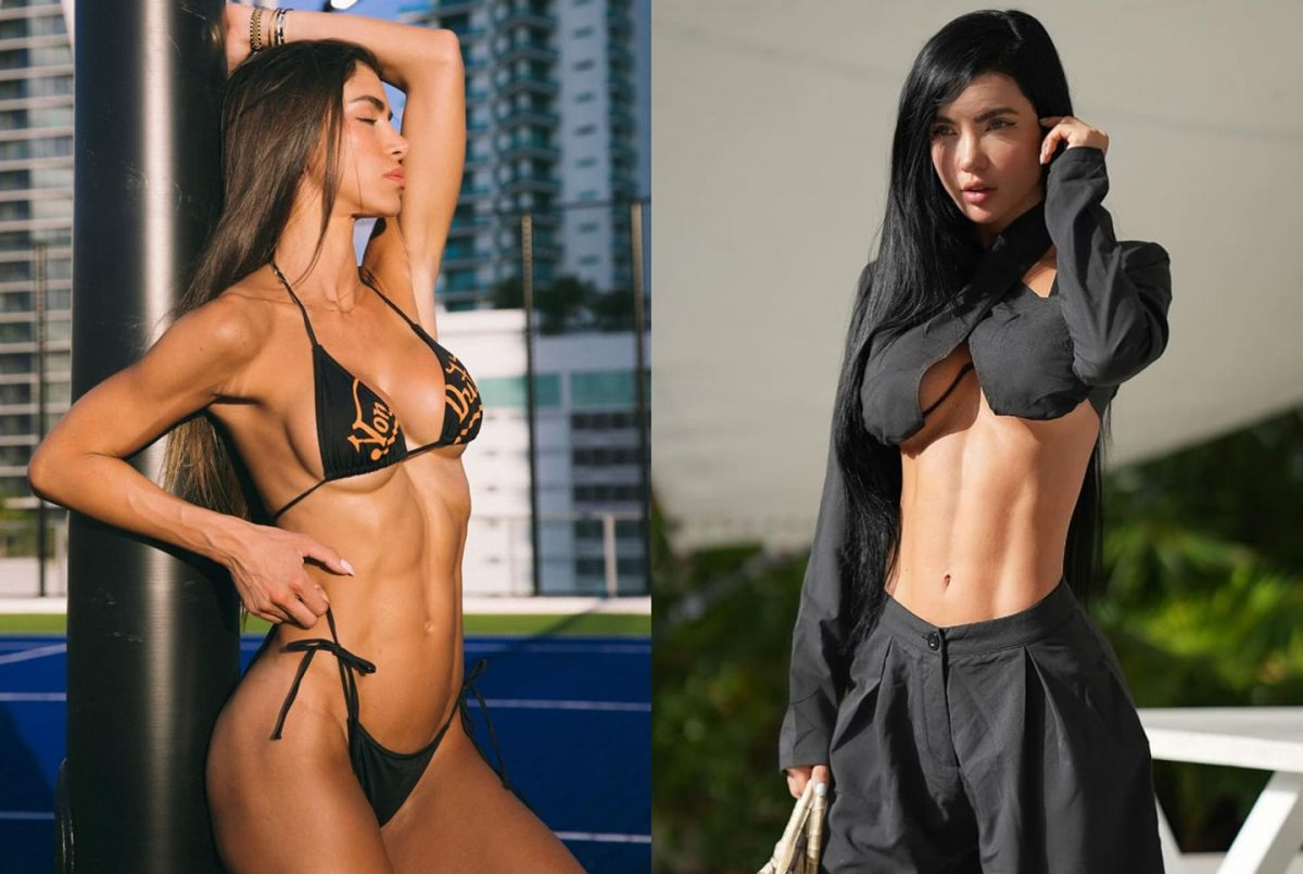 Top 10 hottest Colombian female fitness models on social media