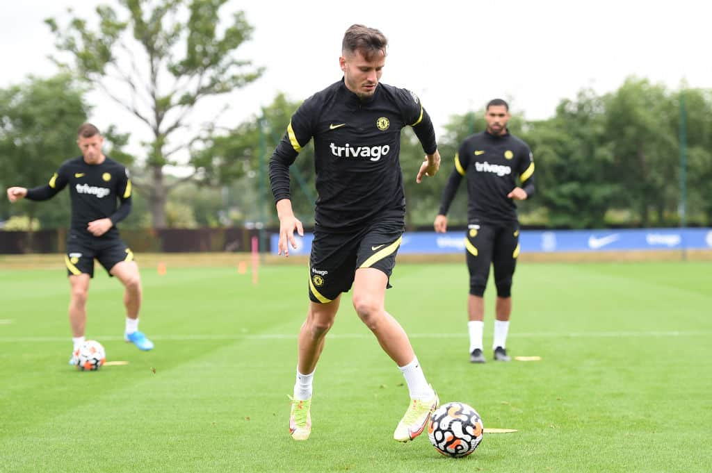What N'Golo Kante and Saul Niguez did in Chelsea training