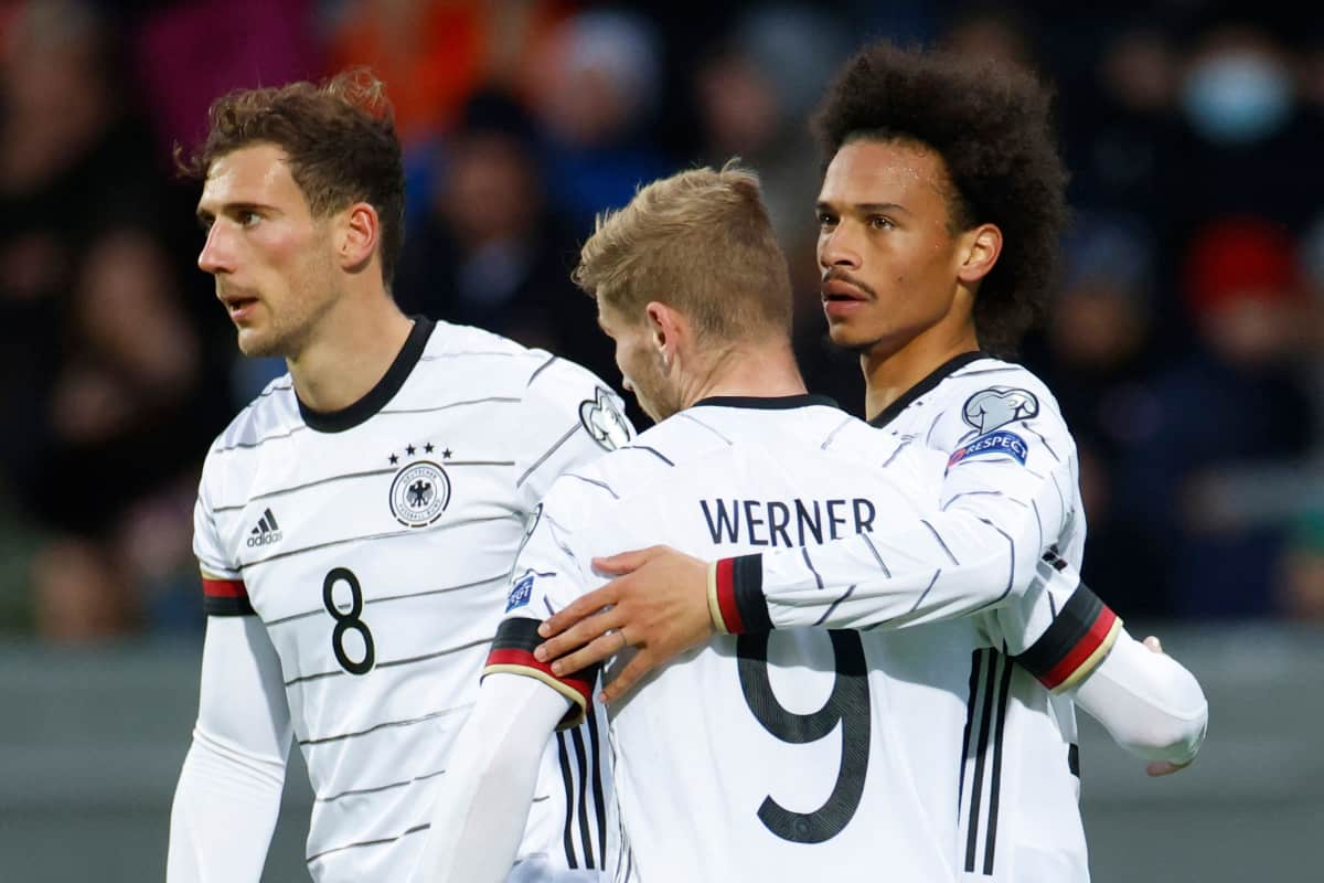 Timo Werner misses brilliant chance for Germany but later scores