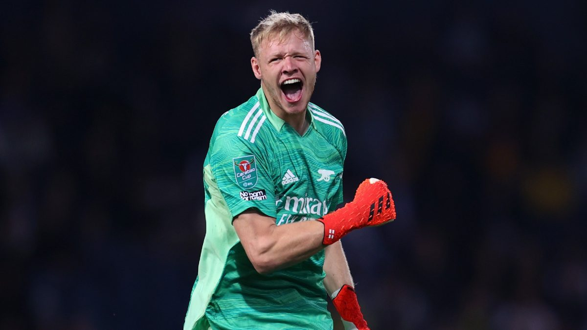Mikel Arteta makes challenging Aaron Ramsdale and Bernd Leno claim