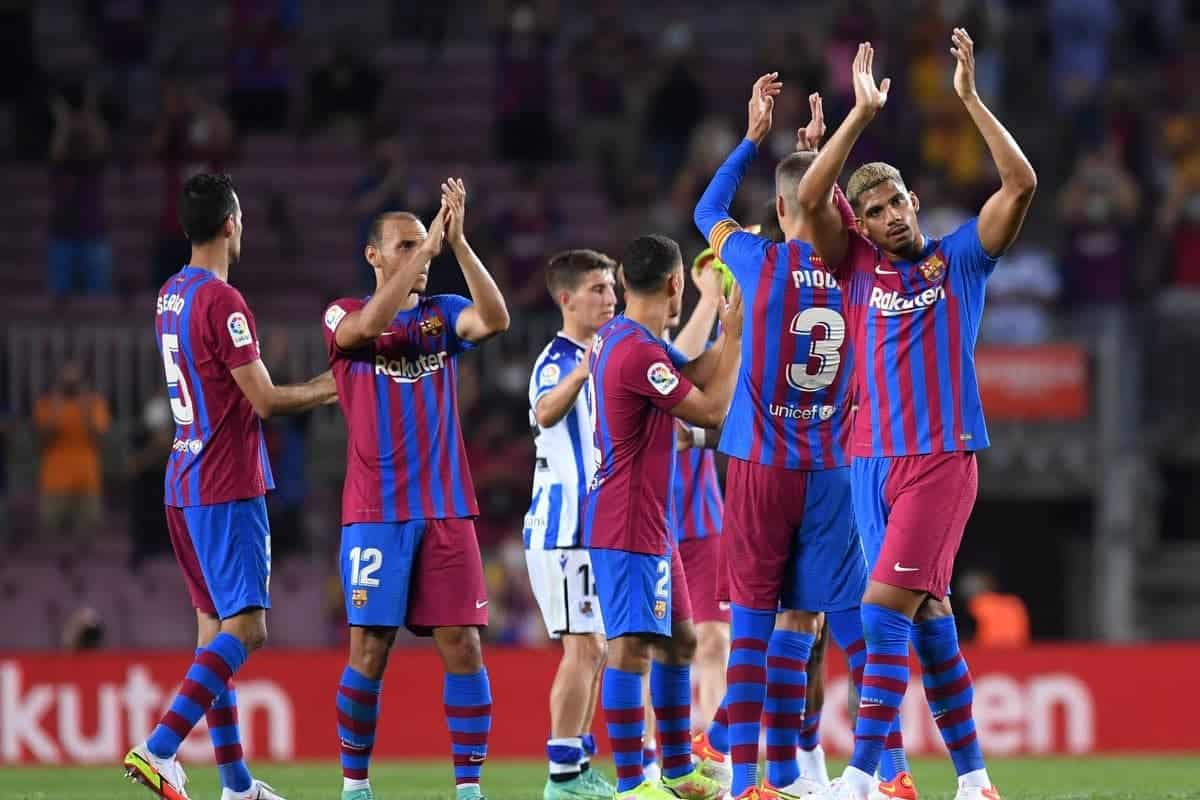 Barcelona predicted line up against Benfica