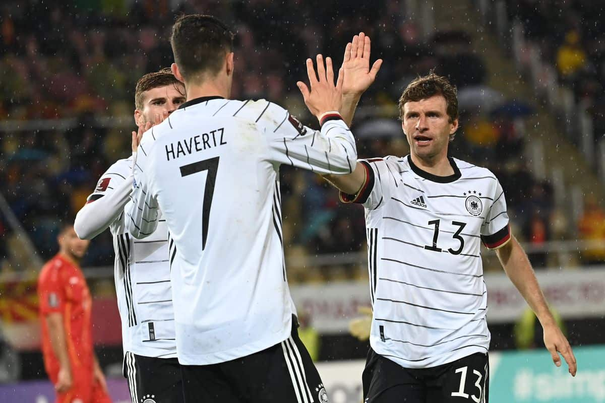 Timo Werner nets double, while Kai Havertz scores brilliant goal for Germany to qualify for Qatar World Cup 2022