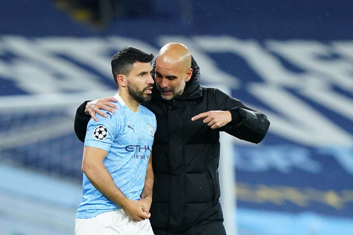 Sergio Aguero makes bold claim about his problems with Pep Guardiola at Manchester City