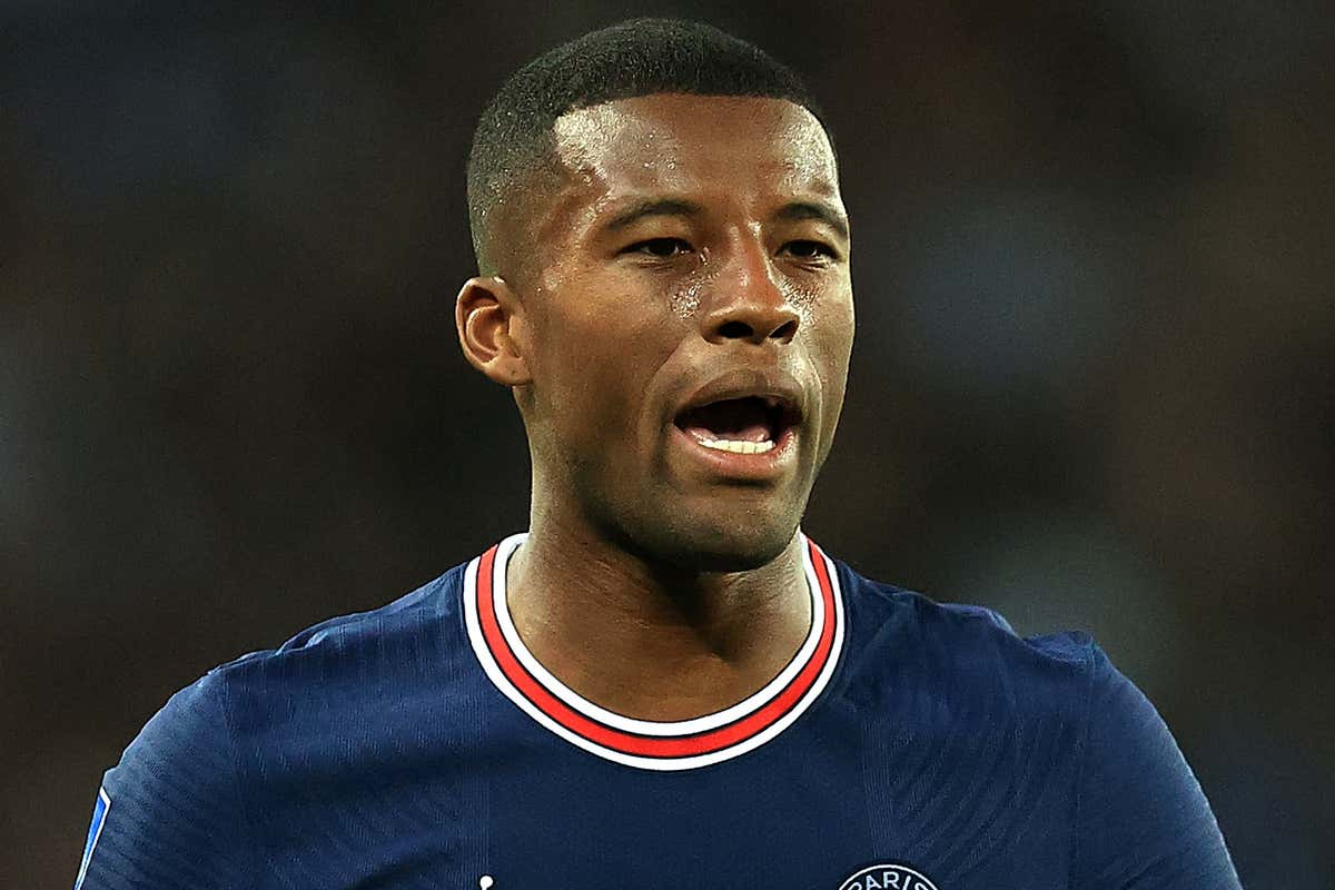 """Gini Wijnaldum reveals PSG role was """"not what he wanted"""" after leaving Liverpool"""