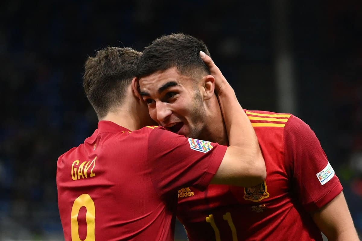 Spain boss Luis Enrique provides injury update on Ferran Torres ahead of Nations League final