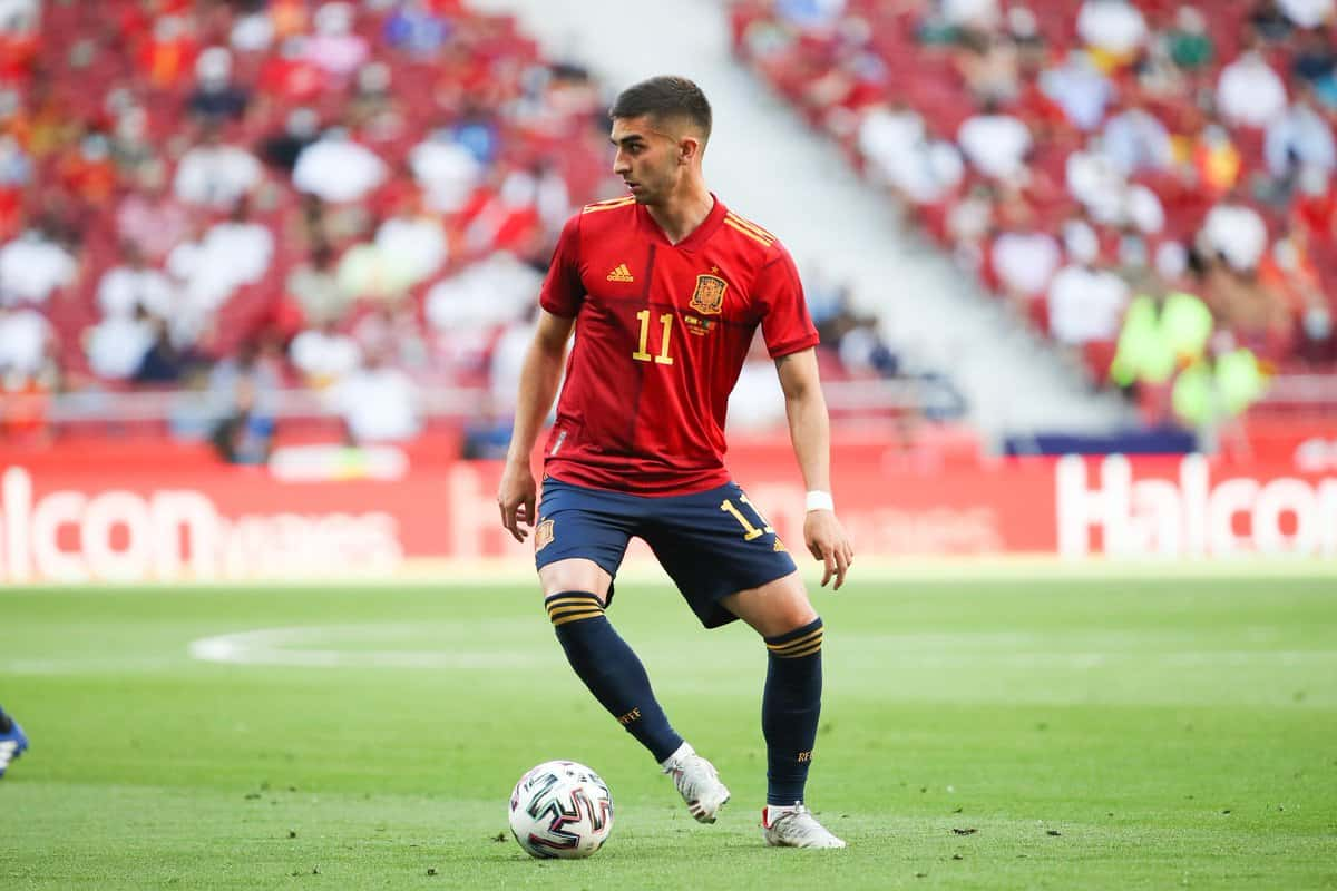 Ferran Torres drops hint on Manchester City future while on international duty with Spain