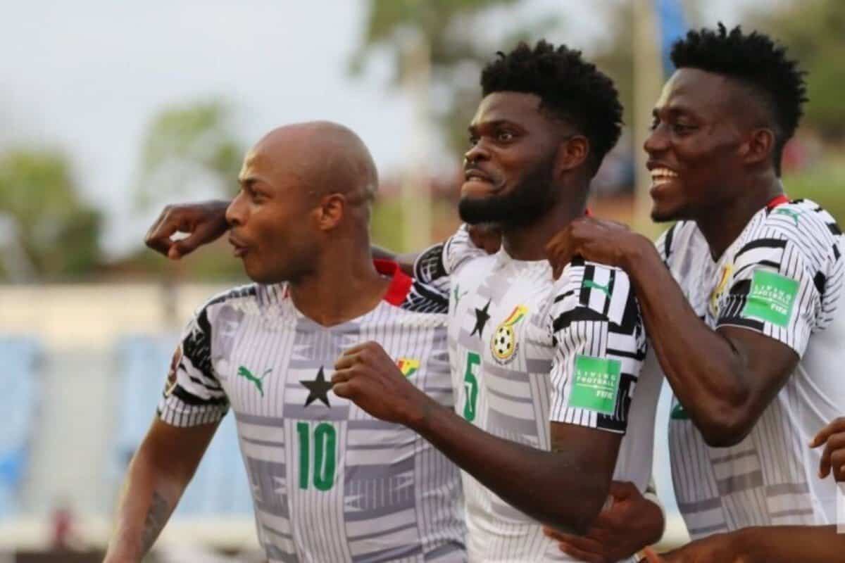 Thomas Partey scores perfect rocket for Ghana